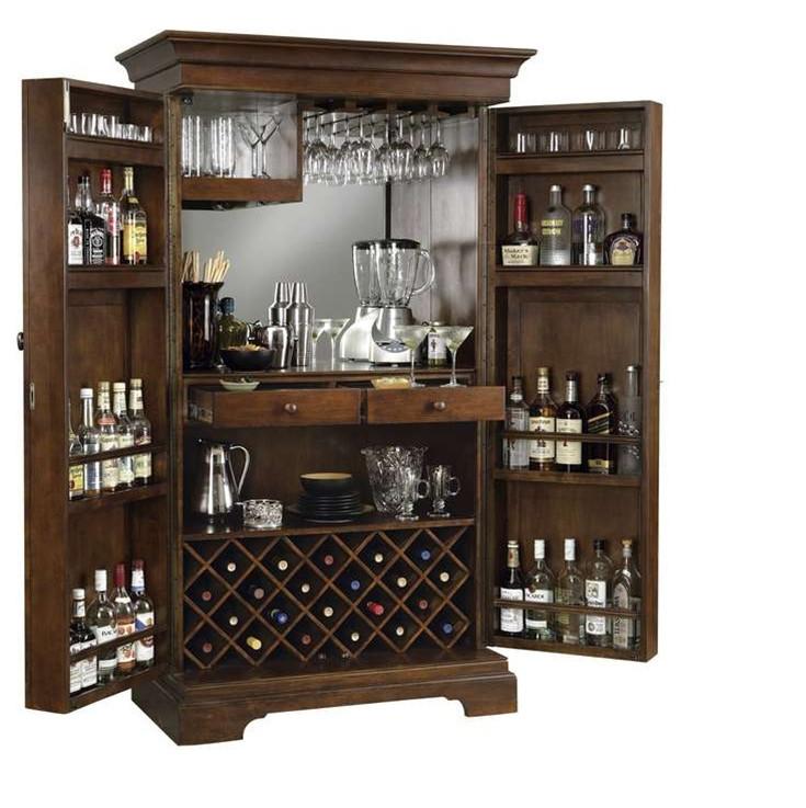 Home Liquor Cabinet: Antique Liquor Cabinet Furniture