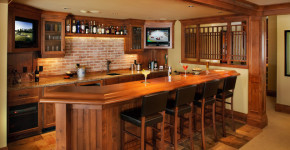 awesome basement bars