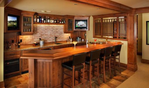 awesome basement bars