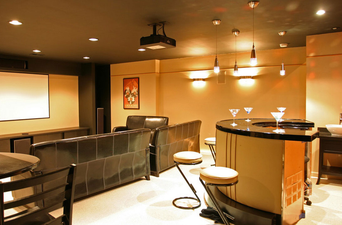 Bar Ideas for Basement With Pictures
