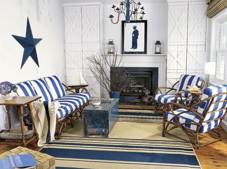 beach themed living rooms