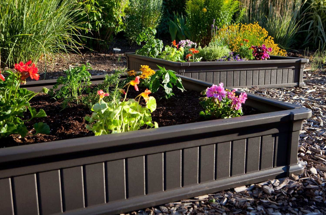 beautiful raised bed gardens