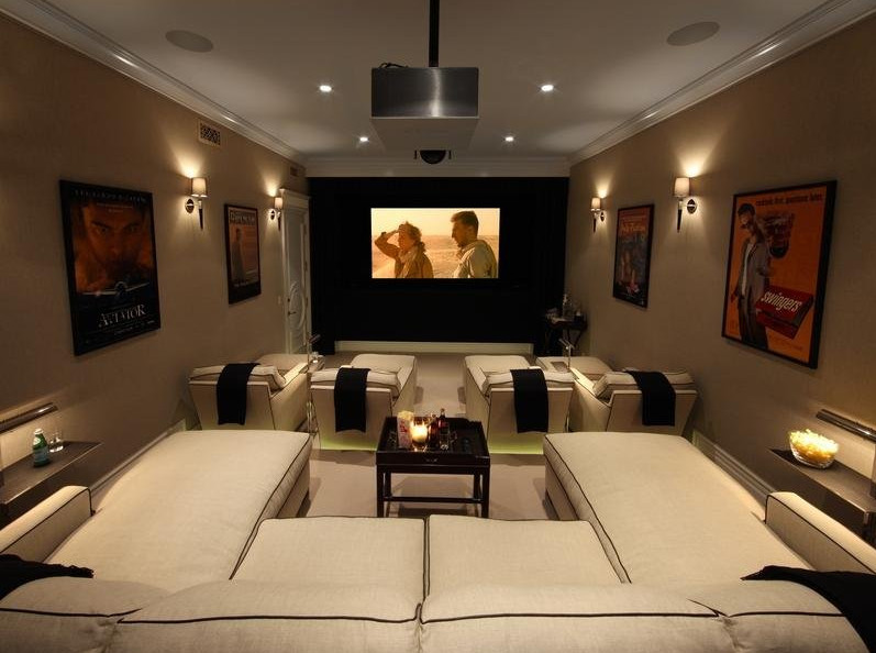 Best Media Room Furniture
