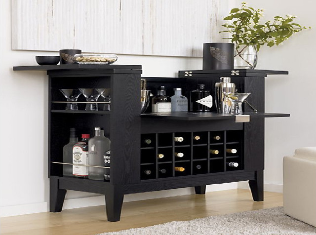 Black Liquor Cabinet | Interesting Ideas for Home