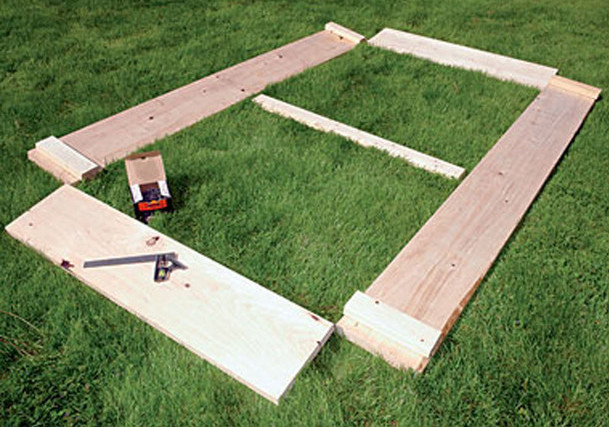 build a raised bed garden box