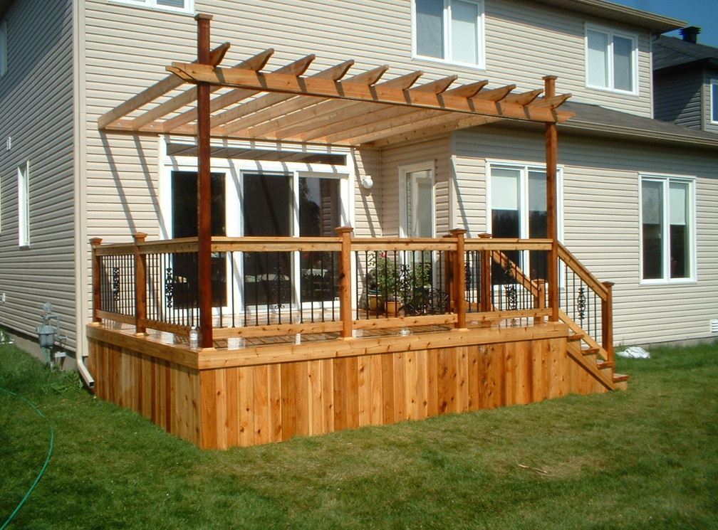 Composite Deck Gazebo