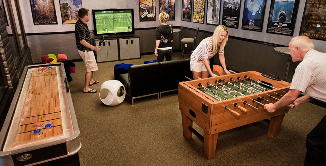 Cool game room furniture interesting ideas for home Decorating a home games