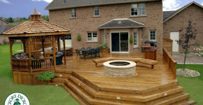 creative decks and gazebos