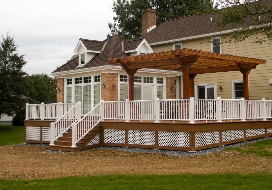 Deck gazebo ideas interesting ideas for home for Deck with gazebo