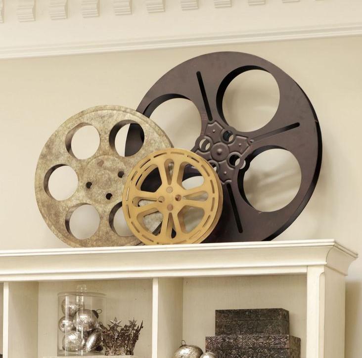 decorative movie reels