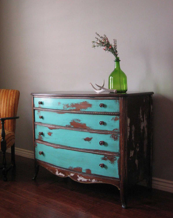 Distress Painted Wood Furniture Interesting Ideas For Home