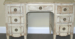 distress white furniture