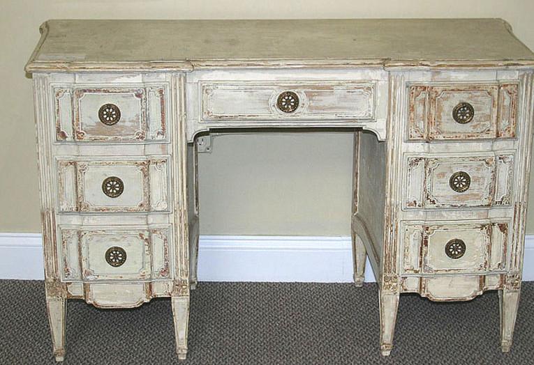 Distress White Furniture