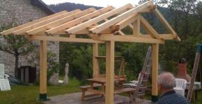 diy gazebo roof