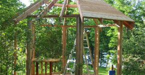 diy outdoor gazebo