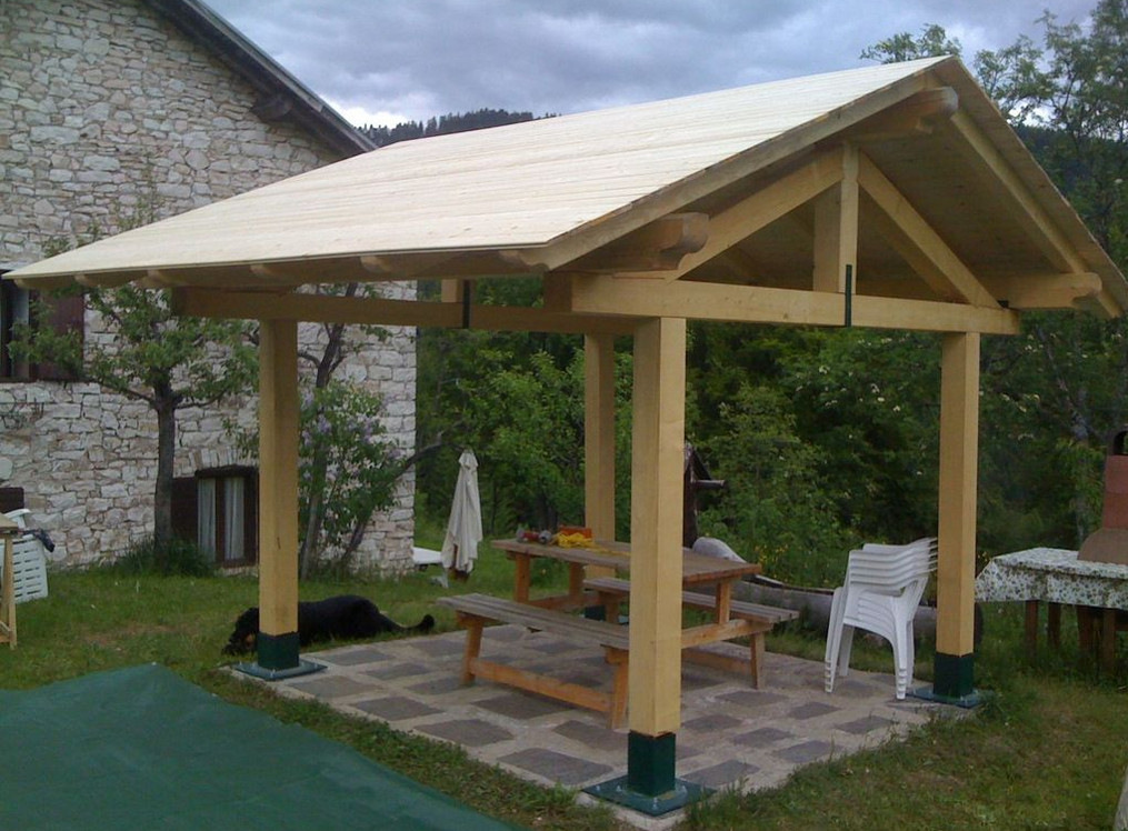 Diy simple gazebo interesting ideas for home for Simple gazebo plans