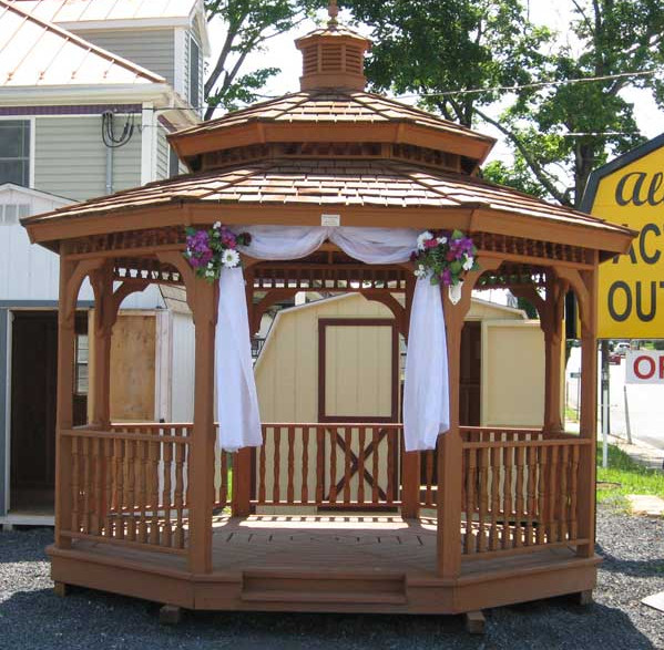 diy wedding gazebo