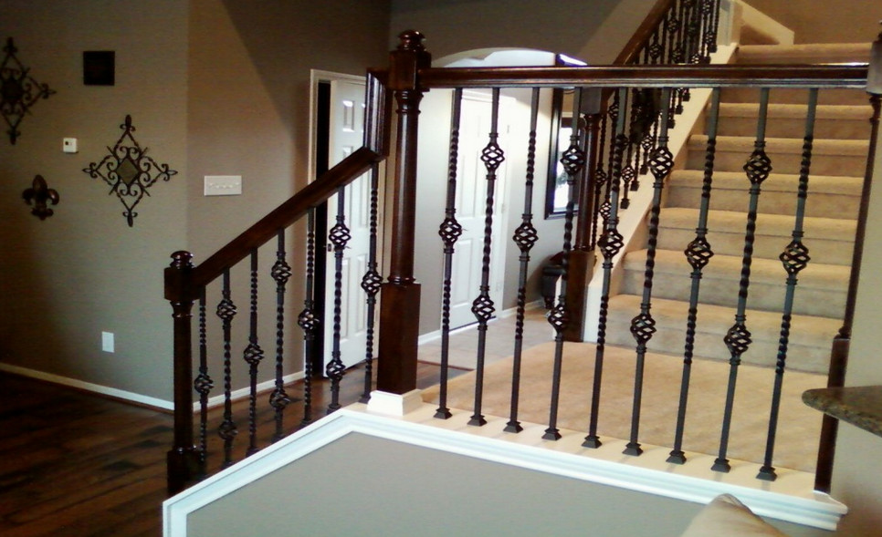diy wrought iron balusters interesting ideas for home
