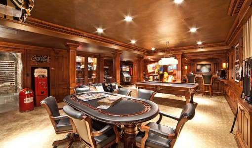 dream home game room