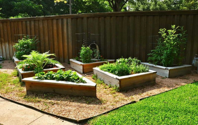 easy raised flower beds