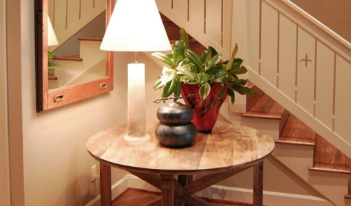 Entryway Round Table Interesting Ideas For Home