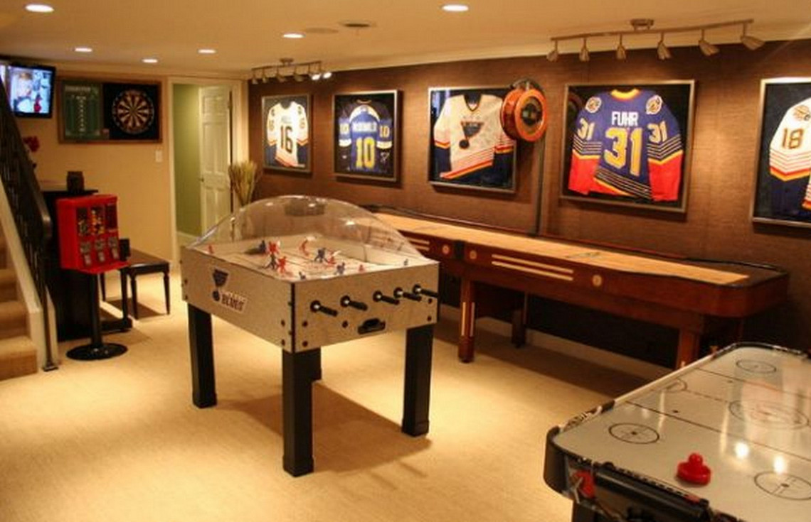 Family game room ideas interesting ideas for home for Good ideas for room decorating