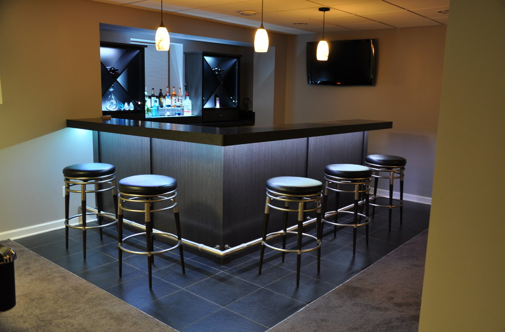 Finished Basement Bars