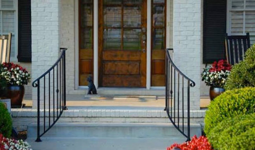 front porch railing interesting ideas for home
