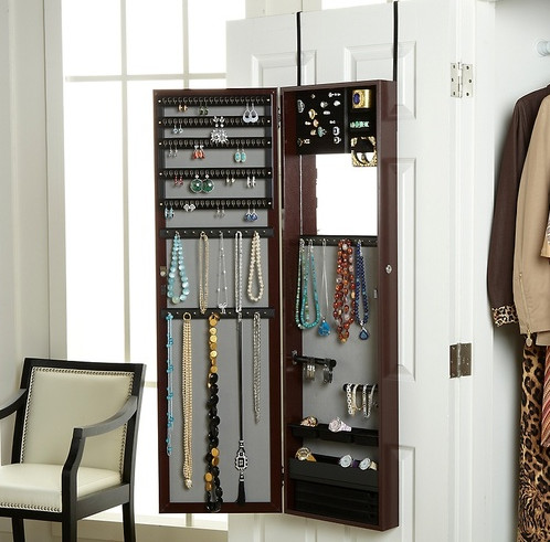 full length jewelry armoire mirror