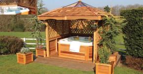 gazebo designs for hot tubs