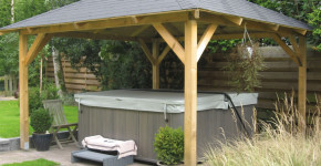 gazebo hot tub cover