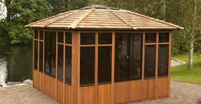 gazebo hot tub enclosure