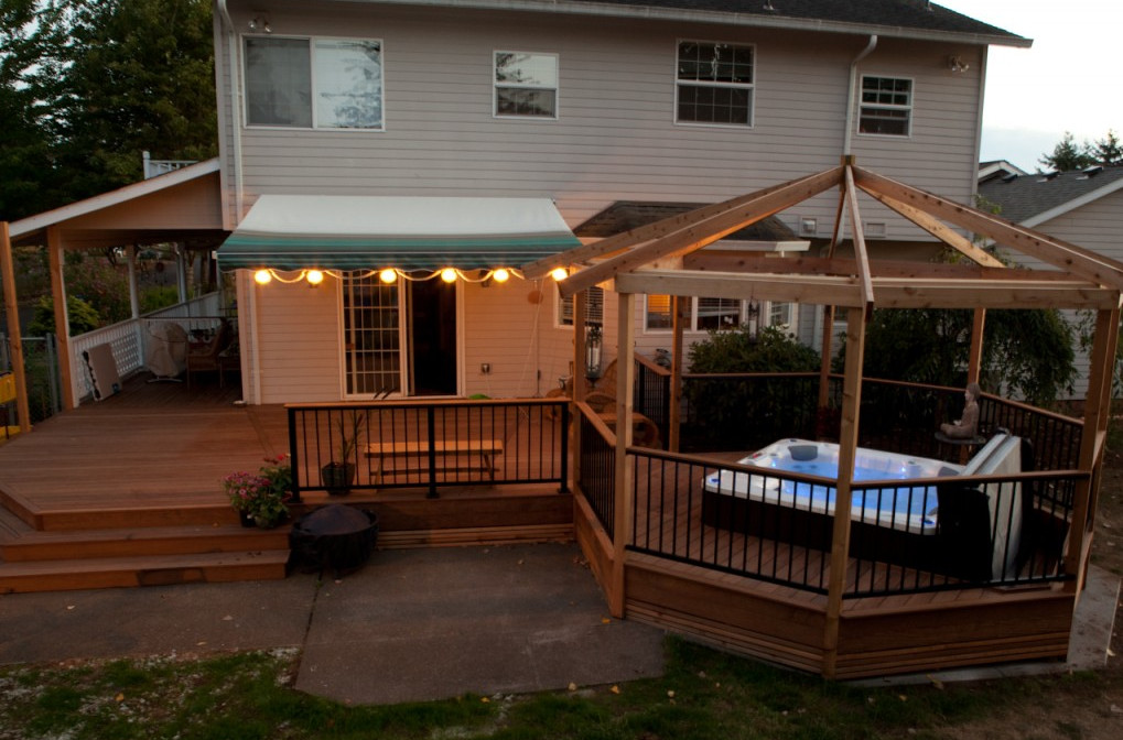Gazebo kits for hot tubs interesting ideas for home for Diy hot tub gazebo