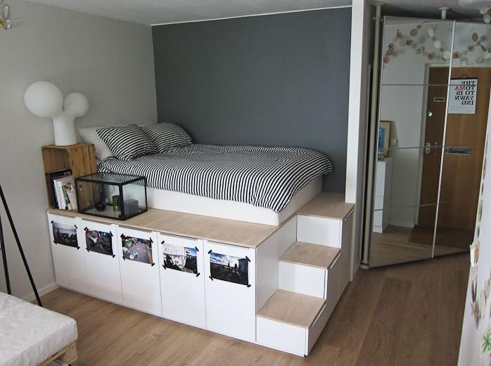 high raised bed frame