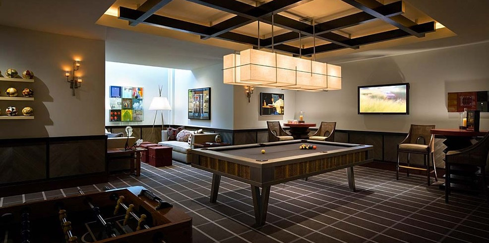 Home Game Room Designs Interesting Ideas for Home