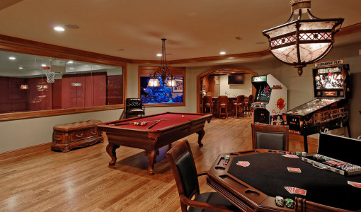 home game room equipment