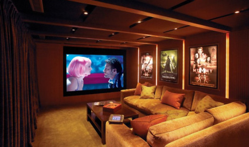 home movie room decor