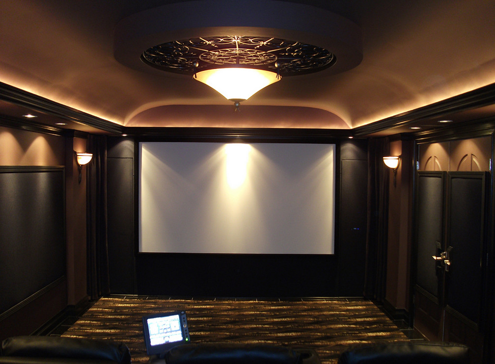 Home Theater Lighting Design Interesting Ideas For