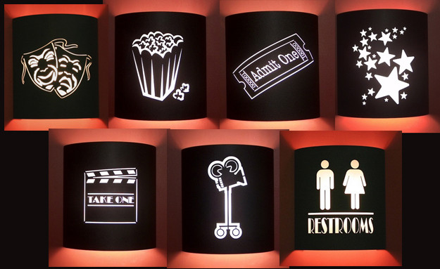Home Theater Lighting Sconces