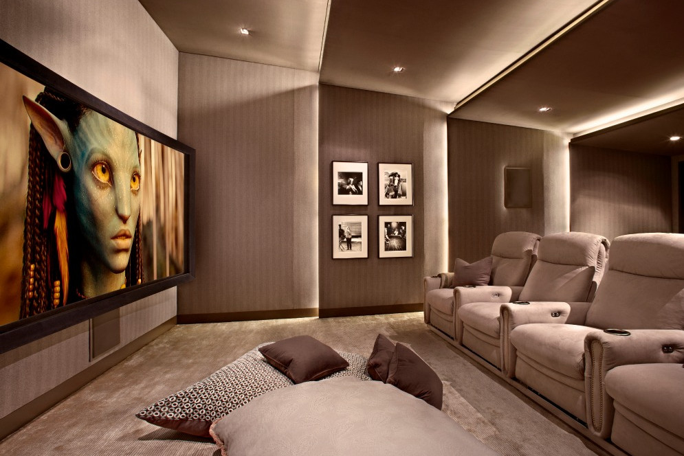 home theater lighting tips interesting ideas for home