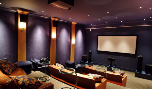 home theater wall lighting