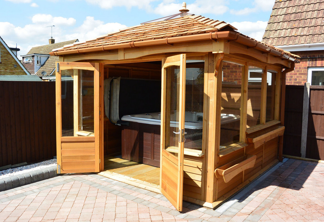 Hot Tub And Gazebo Package Interesting Ideas For Home