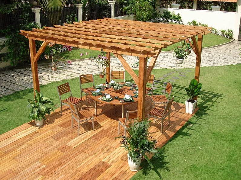 Pergola Design Ideas And Instructions