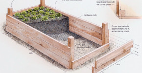 how to build raised flower beds