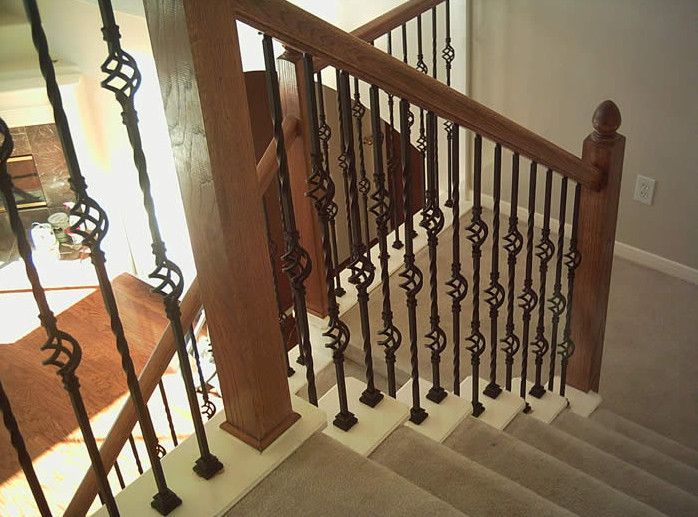 wrought iron interior stair railings interior iron stair railings interesting ideas for home 11843
