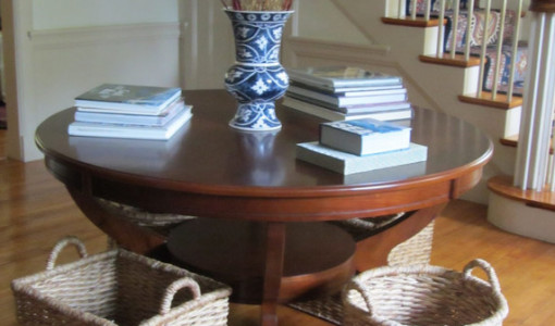 Large Foyer Table Round : Entryway round table interesting ideas for home