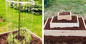 making raised flower beds