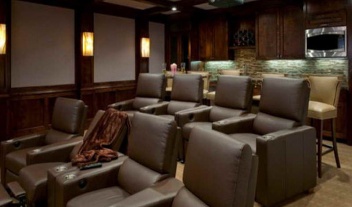 media chairs home theater