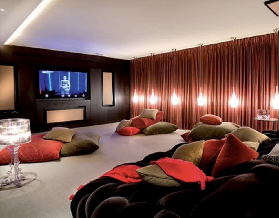 Media Room Furniture Ideas