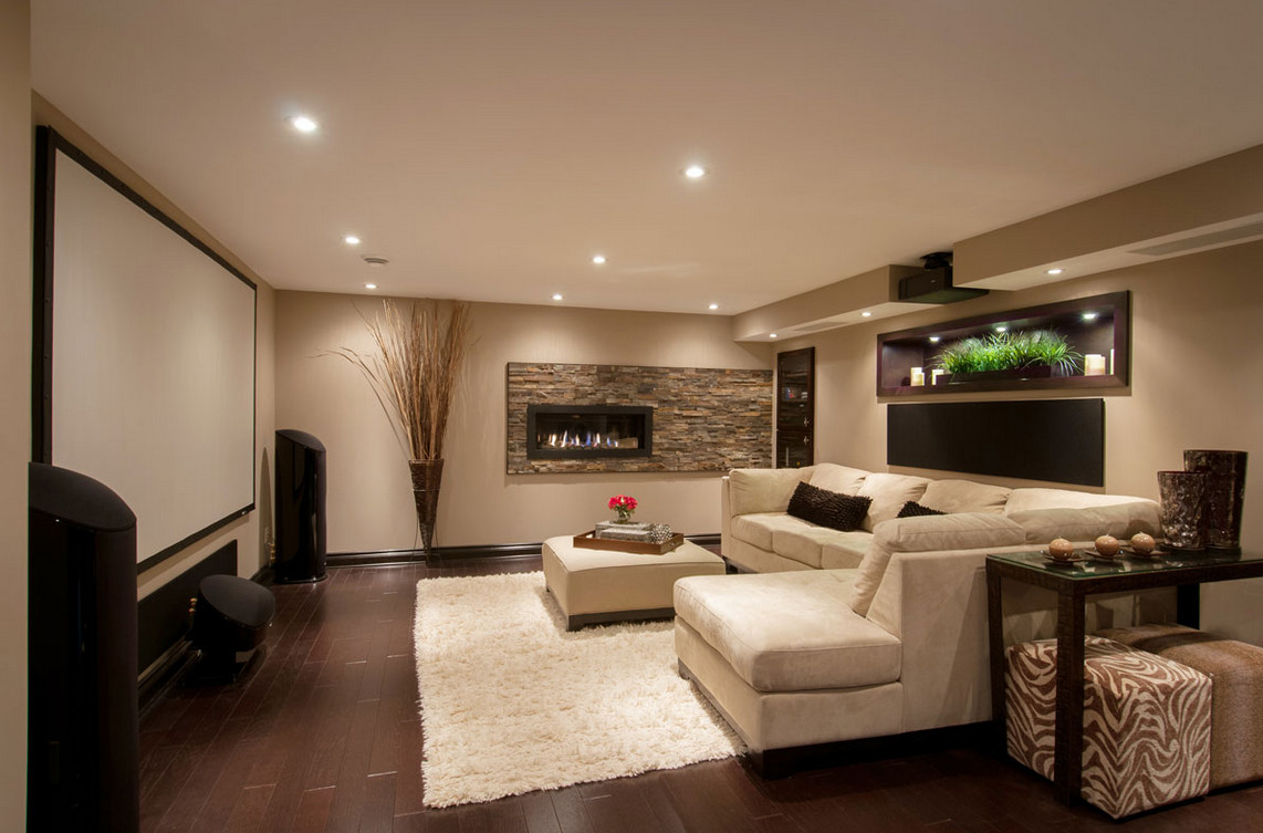 media room furniture layout interesting ideas for home
